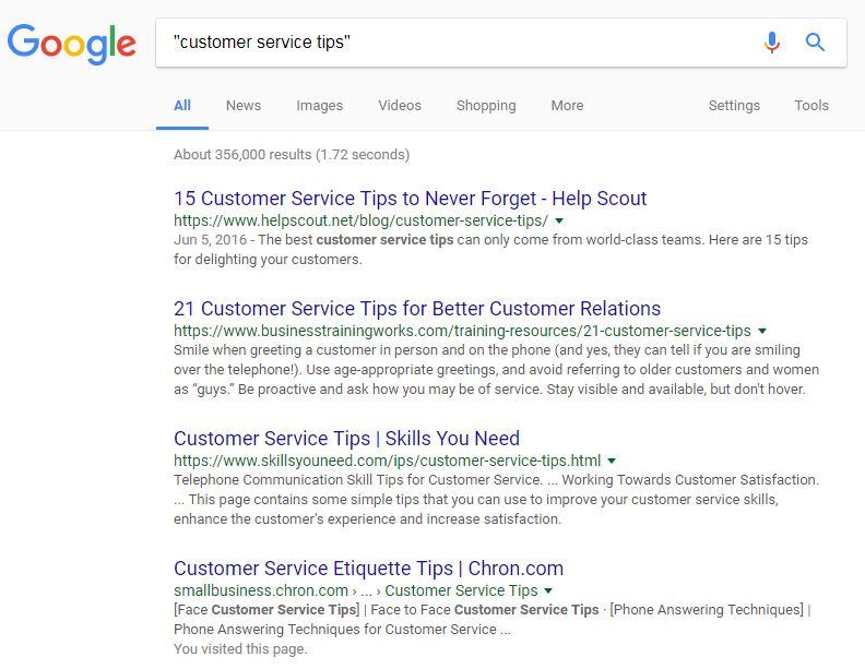 Google Quotations