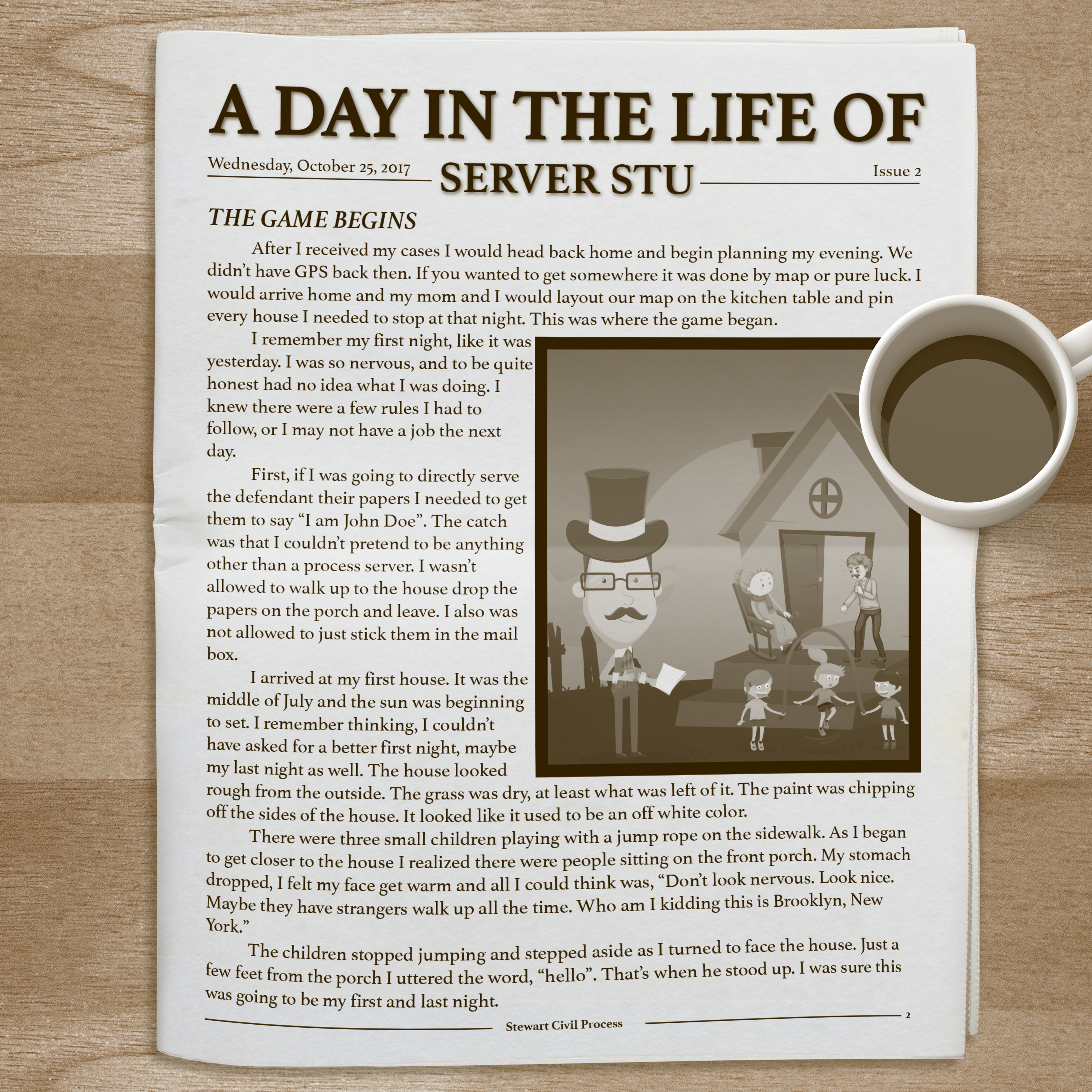 ServerStu_Newspaper-TheGameBegins.jpg